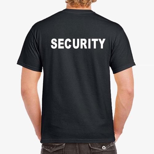 T-Shirt Druck für Dienstbekleidung