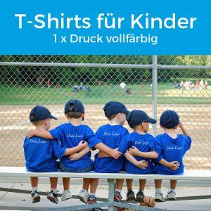 T Shirts für Kinder drucken lassen